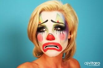 Sad Clown Emotional Photo by Photographer AJVitaroPhoto