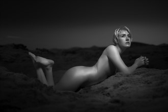 Sad Thoughts Artistic Nude Artwork by Model Deeza Lind