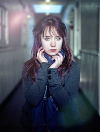 Sadness in her eyes. Portrait Photo by Photographer Ikon Republik
