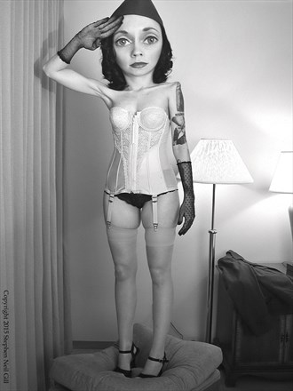 Salute Lingerie Photo by Photographer Stephen Neil Gill