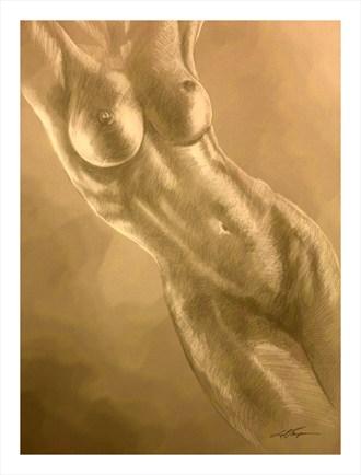Samantha Artistic Nude Artwork by Artist Joel Thompson