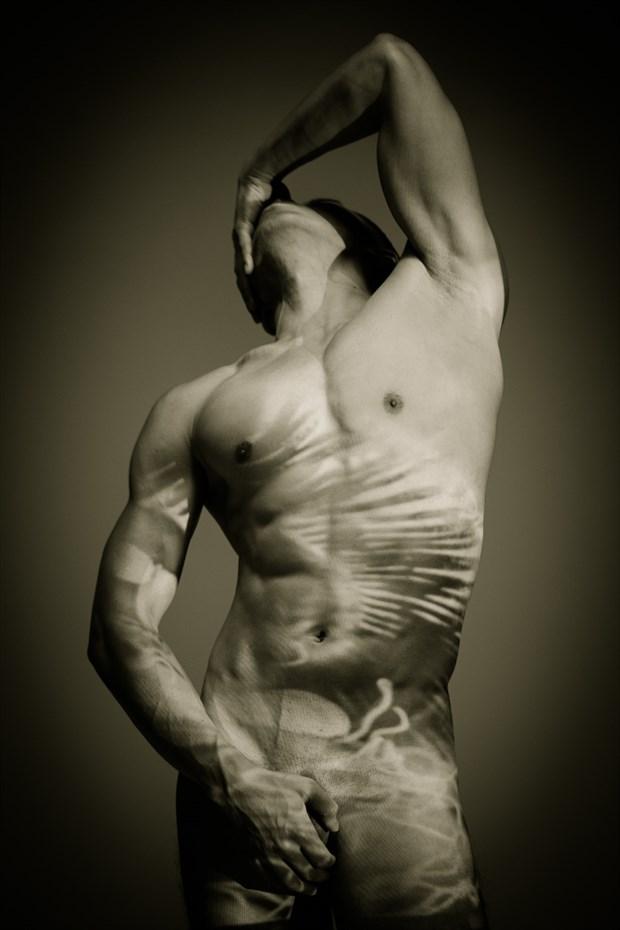 San Marcos Artistic Nude Photo by Model Buff Leo