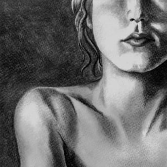 Sarah Artistic Nude Artwork by Artist Nadia Vanilla