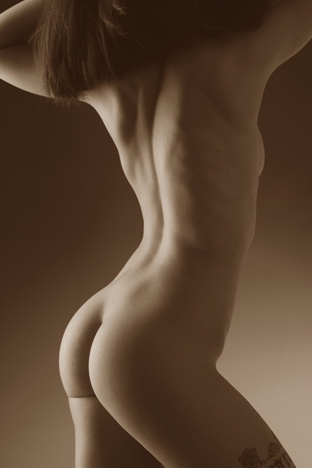 Sarah Artistic Nude Photo by Photographer Pat Berrett