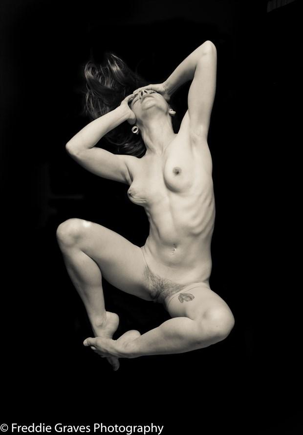 Sasha Chronic Pain 4 Artistic Nude Photo by Artist Freddie Graves