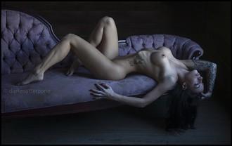Satanic Barbie Doll 1 Artistic Nude Photo by Photographer Dark Matter Zone