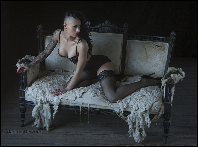 Satanic Barbie Doll 2 Tattoos Photo by Photographer Dark Matter Zone