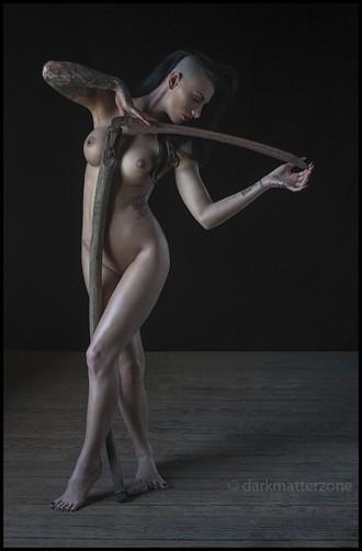 Satanic Barbie Doll 3 Artistic Nude Photo by Photographer Dark Matter Zone