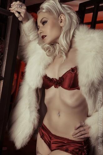 Satin & Fur Tattoos Photo by Model Romanie