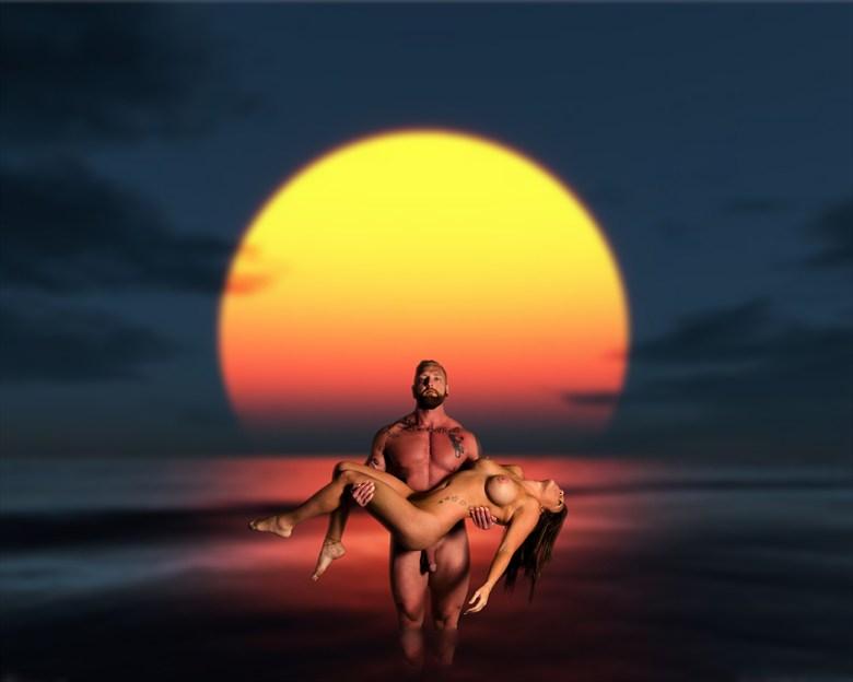 Savior Artistic Nude Photo by Photographer Al Fess