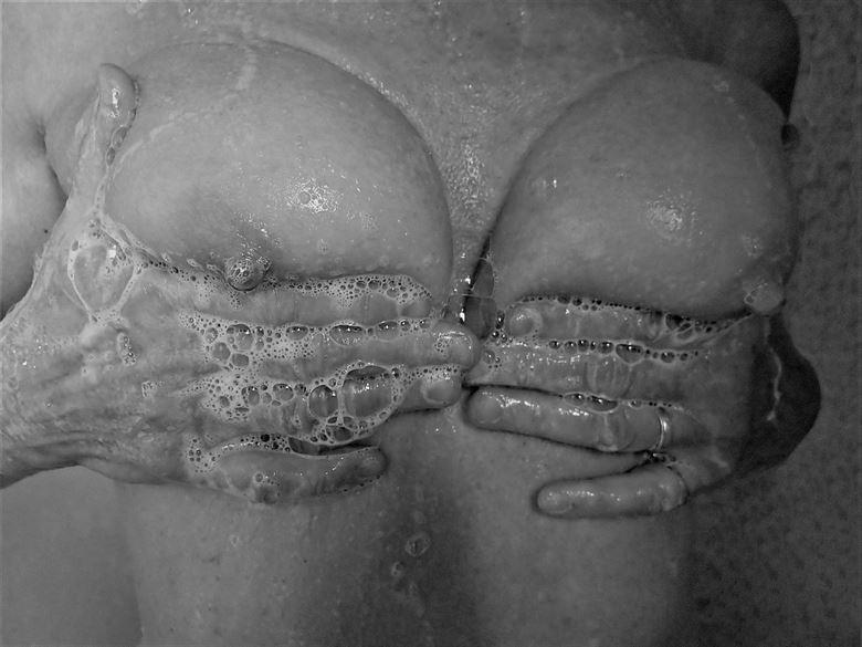 Savonnage Artistic Nude Photo by Photographer Dick