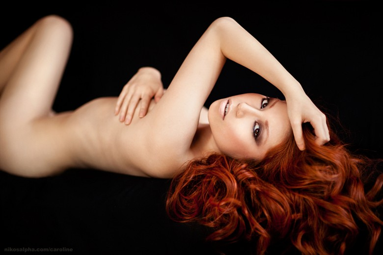 Savory Artistic Nude Photo by Model Caroline Madison