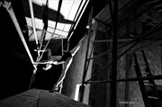 Scaffold splits Abstract Photo by Photographer Tim Ash