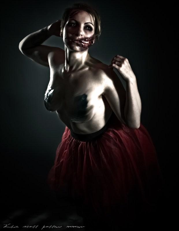 Scary  Alternative Model Photo by Photographer Katie Potter