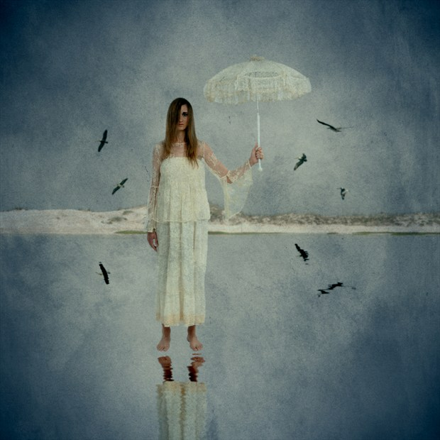 Scary Poppins Fantasy Artwork by Photographer Mario Peralta Photography