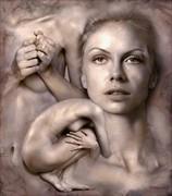 Scomposizione 02 Artistic Nude Artwork by Artist Contesaia