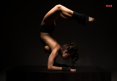 Scorpion Artistic Nude Artwork by Model Ceara Blu