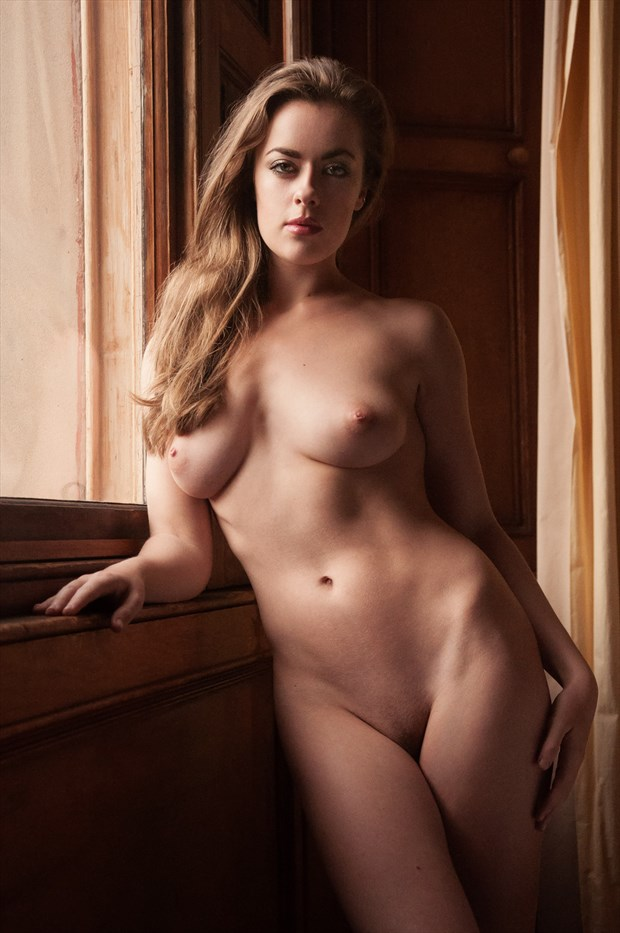 Scottish Tour Artistic Nude Artwork by Model Rosa Brighid
