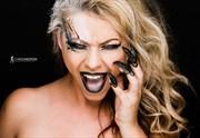 Scream Queen Close Up Photo by Model Riccella