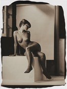 Screen Test Artistic Nude Photo by Photographer Thomas Sauerwein