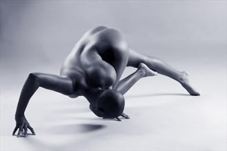Sculptural 6104_49 Artistic Nude Photo by Photographer Michael Cowell