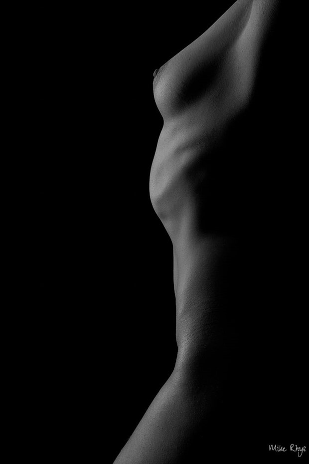 Sculptural Dream Artistic Nude Photo by Photographer Mike Rhys