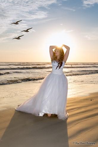 Sea Bride Nature Photo by Model NATTA