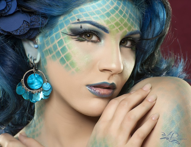 Sea Nymph   Samantha Behlog Glamour Photo by Photographer LexyPage57
