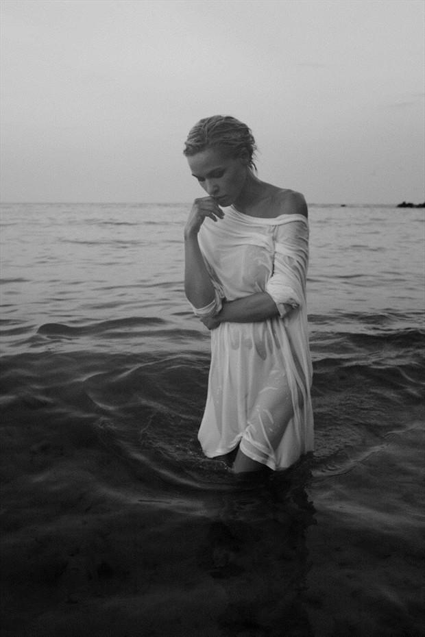 Sea story II Expressive Portrait Artwork by Photographer Kiril Stanoev