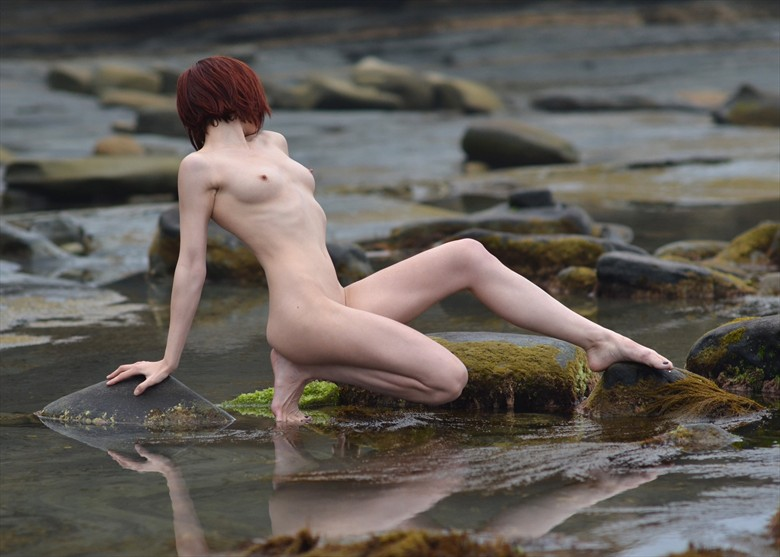 Seaside Lament Artistic Nude Photo by Photographer Alan H Bruce