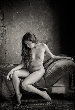 Seated Nude  Artistic Nude Photo by Photographer Risen Phoenix