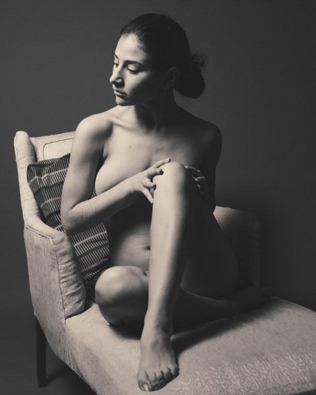Seated Nude Studio Lighting Photo by Photographer CalidaVision