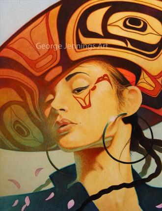 Seattle (Detail) Glamour Artwork by Artist jart64