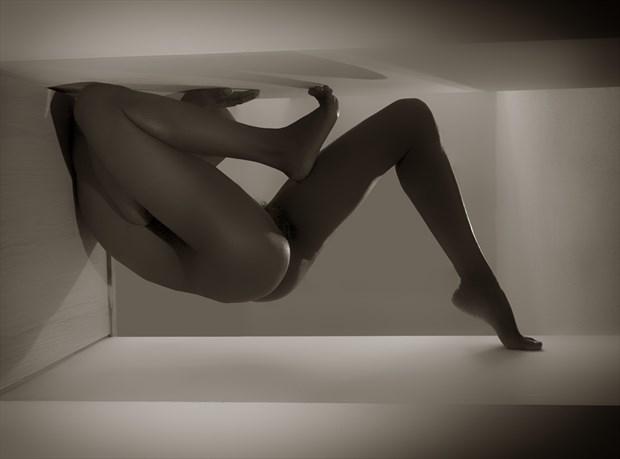 Secret Language Artistic Nude Photo by Artist Kevin Stiles