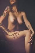 Secrets  Artistic Nude Artwork by Model Monica Elizabeth