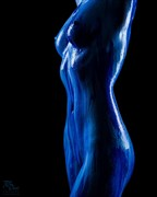 Seeing Blue Artistic Nude Photo by Model Sabryna Syndrome