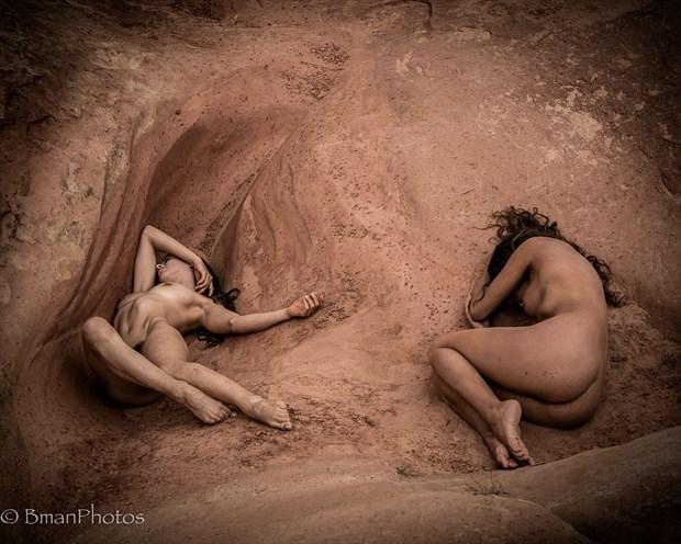 Sekaa & Monique Artistic Nude Photo by Photographer BmanPhotos