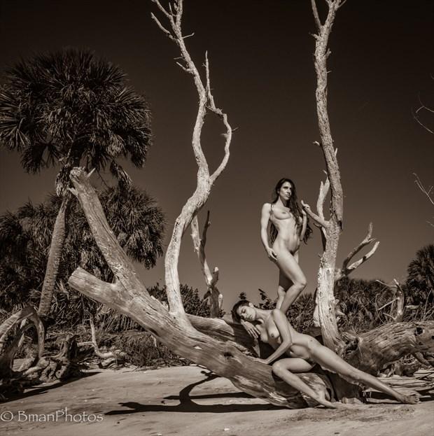 Sekaa & Roarie Yum Artistic Nude Photo by Photographer BmanPhotos