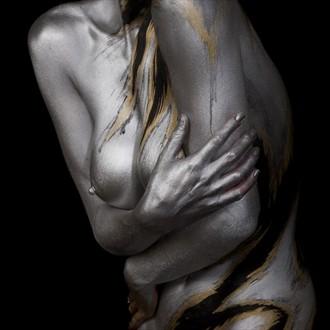 Self Hug Artistic Nude Photo by Photographer aricephoto