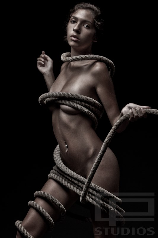 Self Mastery Artistic Nude Photo by Model Monique