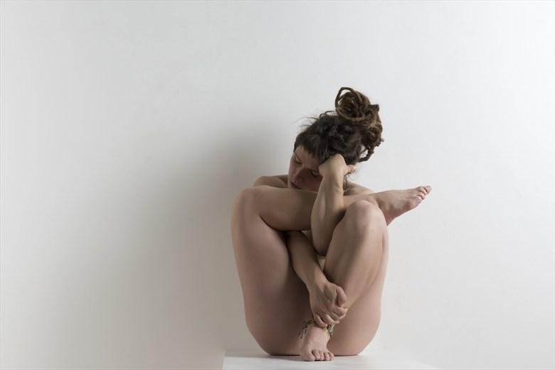 Self Muddle  Artistic Nude Photo by Model Boho Lish