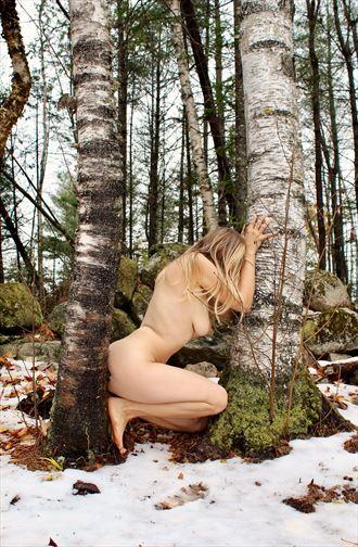 Self Portrait 054 Artistic Nude Photo by Model Ursa Minor