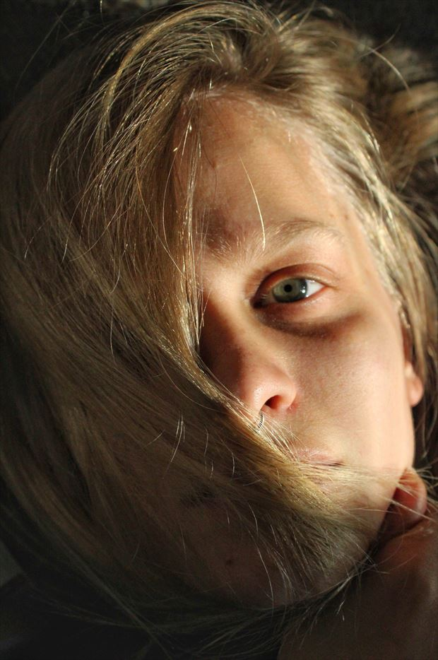 Self Portrait 055 Close Up Photo by Model Ursa Minor