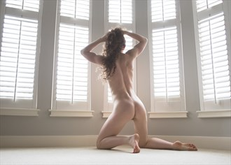 Self Portrait Artistic Nude Photo by Model Keira Grant