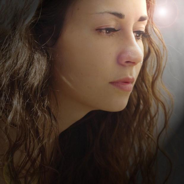 Self Portrait Emotional Photo by Model Amanda M Esteves