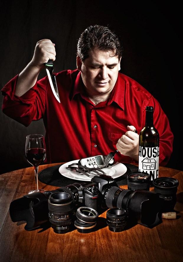 Self Portrait Horror Photo by Photographer Alec Dawson