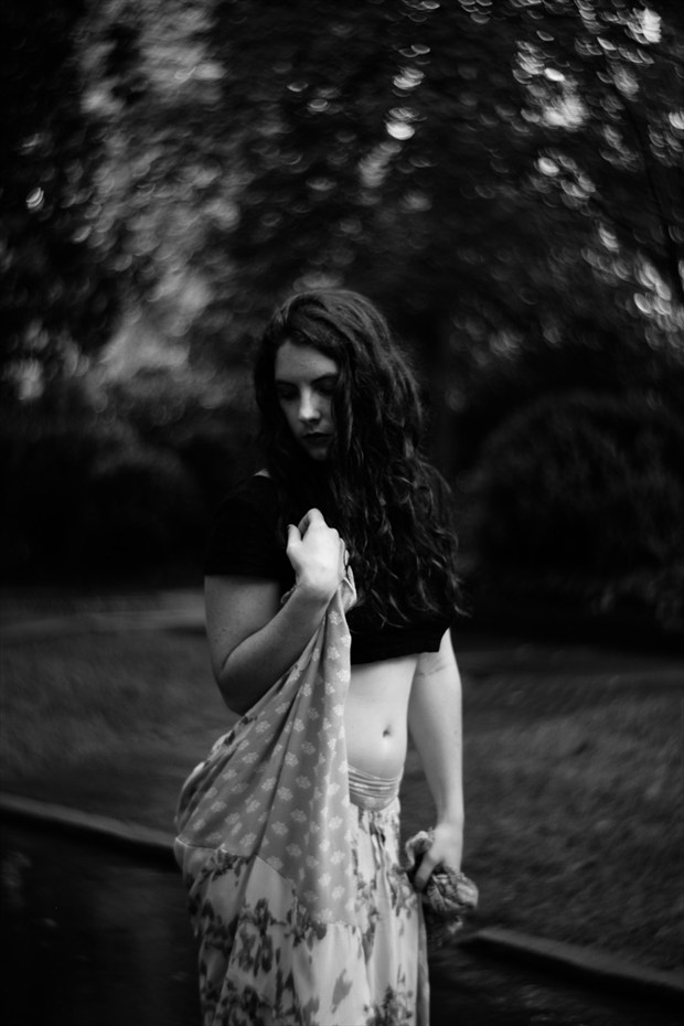 Self Portrait Portrait Photo by Model Heather Gallagher