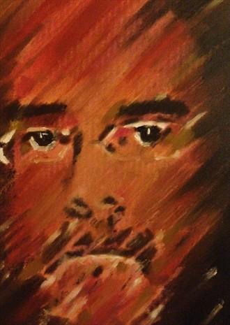 Self Portrait Self Portrait Artwork by Artist Manolis Kastrinakis