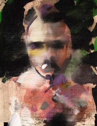 Self Portrait Self Portrait Artwork by Artist aclaytonjohnson