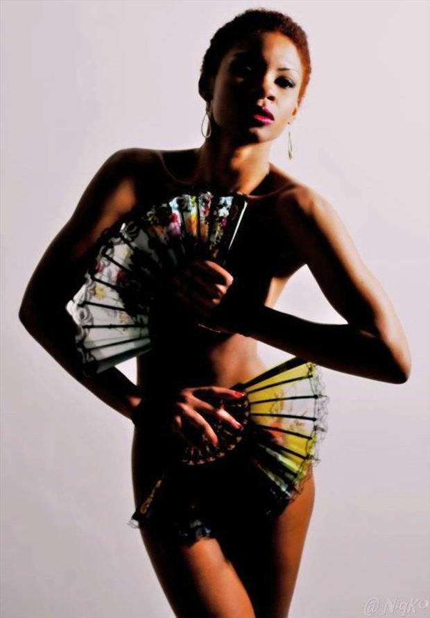 Senorita Artistic Nude Artwork by Model Ms Muse
